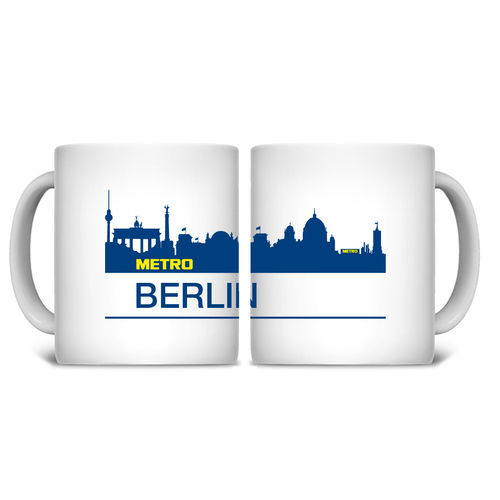 Tasse Skyline Berlin